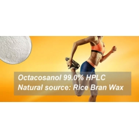 Octacosanol 90% (Extract from rice bran wax) 1KG free shipping