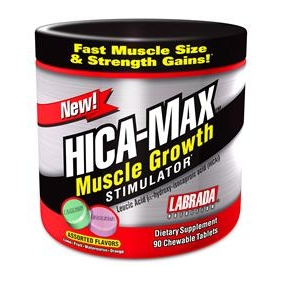 HICA active ingredient in HICA-MAX(LABRADA) alpha-hydroxy-isocaproic acid 98% 1KG/BAG